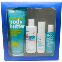 Bliss CROWN JEWELS 4 Pc Best Sellers: Lemon + Sage Body Butter 6.7 Oz, The Love Handler 4 Oz, Fabulous Foaming Face Wash 2 Oz, And Triple Oxygen Instant Energizing Mask 0.5 Oz