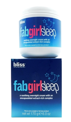 bliss FabGirlSleep Overnight Cream 6 Oz.