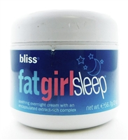 bliss FatGirlSleep Soothing Overnight Cream 2 Oz. (New, No Box)