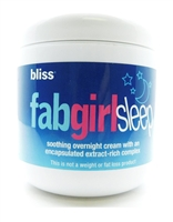 bliss FabGirlSleep Soothing Overnight Cream 6 Oz.