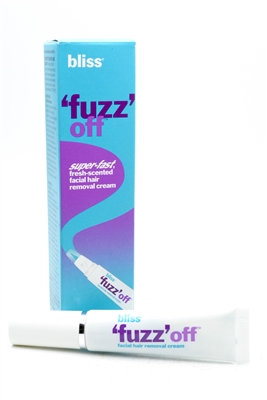 Bliss Fuzz Off Foam Facial Hair Removal Spray Cream .5 Oz.