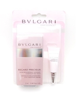 BVLGARI Gem Essence Regard Precieux Intensive Regenerating Eye Contour Cream .06 Fl Oz.