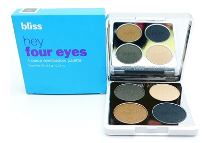 bliss Hey Four Eyes 4 Piece Eyeshadow Palette sage .24 Oz.