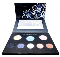 By Lauren Luke My Sultry Blues Palette: Shadow Primer nude slip dark .04 Oz., Eye Shadow continental .14 Oz., Blush wind flush .14 Oz., Creme Eye Liner raven black .04 Oz., Eye Shadow star dust .06 Oz., Lip Color diamond berry .04 Oz.