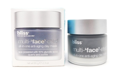 Bliss Multi-'face'-eted all-in-one anti-aging clay mask 2.3 Oz.