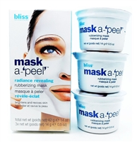 bliss Mask A-'Peel' Radiance Revealing Rubberizing Mask  .5 oz