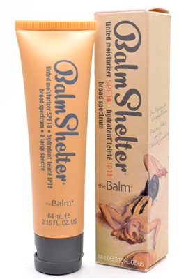 Balm Shelter Tinted Moisturizer SPF18, Broad Spectrum, After Dark   2.15 fl oz