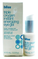 bliss Triple Oxygen Instant Energizing Eye Gel .5 Fl Oz.