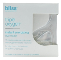 bliss Triple Oxygen Instant Energizing Eye Mask 4 packets x .18 Fl Oz.