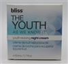 Bliss THE YOUTH as we know it Youth Reviving Night Cream 1.7 Oz