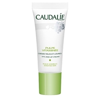 Caudalie Pulpe Vitaminee Eye and Lip Cream .5 Oz
