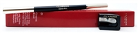 Clarins Crayon Khol Long-Lasting Eye Pencil with Brush & Sharpener  01 Intense Black  .037 Oz.
