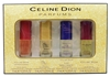 Celine Dion 4 Pc Eau de Toilette Set: Sensational, Signature, Pure Briliiance, Celine Dion (each .375 Fl Oz.)
