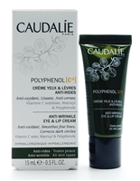 Caudalie Polyphenol C15 Anti-Wrinkle Eye & Lip Cream .5 Fl Oz.