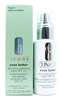 Clinique even better Skin Tone Correcting Lotion SPF20 1.7 Fl Oz.
