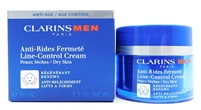 Clarins Men Line-Control Cream Dry Skin 1.7 Oz.