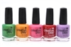 CND Creative Play Nail Lacquer set of 5: Love It or Leaf It, Apricot in the Act, Read My Tulips, Red-y to Roll, A Lilac-y Story (each .46 Fl Oz.)