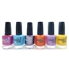 CND Creative Play Nail Lacquer set of 6: The Fuchsia Is Ours, Drop Anchor, Miss Purplelarity, Orange You Curious, A Lilac-Y Story, Taxi Please (each .46 Fl Oz.)