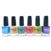 CND Creative Play Nail Lacquer set of 6: Ship-Noticed, Clementine Anytime, My Mo-Mint, Peony Ride, Toe The Lime, Cue The Violets (each .46 Fl Oz.)