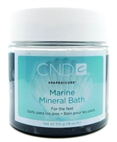 CND Marine Mineral Bath for the feet 18 Oz.