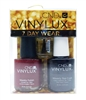 CND Vinylux 7 Day Wear Nail Polish Set: Weekly Polish Decadence .5 Fl Oz., Weekly Top Coat .5 Fl Oz., Solaroil .125 Fl Oz.