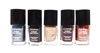 Covergirl Outlast Stay Brilliant Nail Gloss Set: 225 Perfect Penny, 320 Midnight Magic, 315 Timeless Rubies, 275 Wine Stain, 325 Black Diamond (each .37 Fl Oz.)
