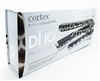 Cortex Platinum Collection Duo Flat Iron Set Giraffe Print:  1 1/4 inch plates + MINI  100% solid ceramic plates
