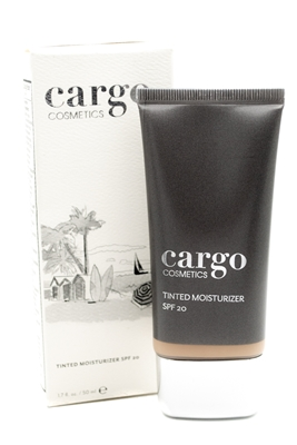 Cargo Tinted Moisturizer SPF20, Protects and Hydrates while Perfecting the Look of Skin, Nude 1.7oz