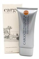 Cargo Tinted Moisturizer SPF20, Protects and Hydrates while Perfecting the Look of Skin, Tan  1.7oz