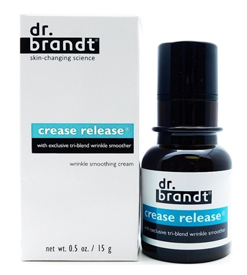 dr. brandt Crease Release wrinkle smoothing cream .5 Oz.