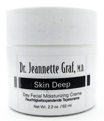 Dr. Jeannette Graf Skin Deep Day Facial Moisturizing Cream 2.2 Oz.
