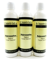 Dr. Jeannette Graf Rejuvenation Retinol Facial Cleanser 3.8 Fl Oz. (set of 3)