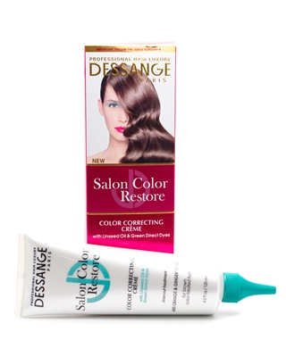 Dessange Salon Color Restore Color Correcting Creme for Brown Color Treated Hair  4.2 fl oz