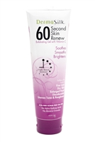 DermaSilk 60 Second Skin Renew Exfoliating Gel with Vitamin C,  4.5 fl oz