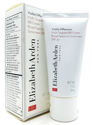 Elizabeth Arden Visible Difference Multi-Targeted BB Cream SPF30 Shade 03 1 Oz.