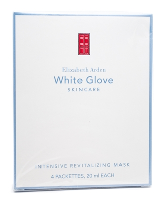 Elizabeth Arden White Glove Extreme Skin Care Intensive Revitalizing Mask 4 Packets Each 0.68 Oz