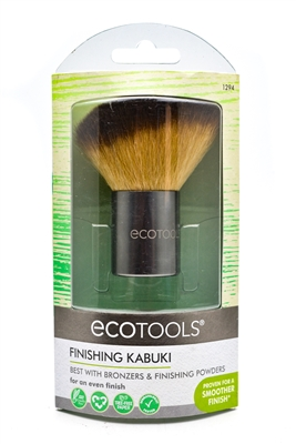 EcoTools Finishing Kabuki, Best with Bronzers & Finishing Powders for an even finish.