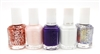 essie Nail Color 5 Piece Set: A Cut Above, Sheers to You, No Shrinking Violet, White Page, On a Silver Platter (each .46 Fl Oz.)