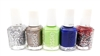 essie Nail Color 5 Piece Set: Set In Stones, B, Vibrant Vibes, Point of Blue, Jazzy Jubilant (each .46 Fl Oz.)