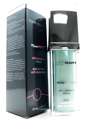 Fusion Beauty Prime Results Anti-Redness Primer 1 Fl Oz.