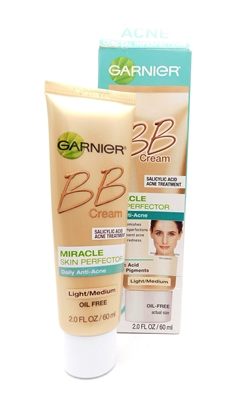 Garnier BB Cream Miracle Skin Perfector Light/Medium 2 Fl Oz.