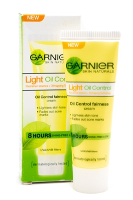 Garnier Light Oil Control Cream, Lightens Skin Tone, Fades Acne Marks   .67 fl oz