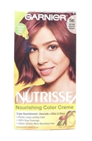Garnier Nutrisse Nourishing Color Creme 56 Medium Reddish Brown One Application