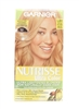 Garnier Nutrisse Ultra Color Ultra Lightening Blondes for Naturally Dark Hair LB1 Ultra Light Cool Blonde One Application