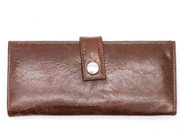 Iris Tyler Genuine Leather, Soho Card Wallet, Brown