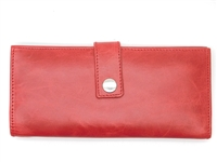 Iris Tyler Genuine Leather, Soho Card Wallet, Red