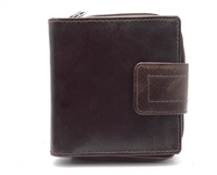 Iris Tyler Genuine Leather, Zippered Wallet, Brown