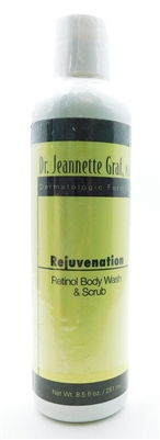 Dr. Jeannette Graf Rejuvenation Retinol Body Wash & Scrub 8.5 Fl Oz.