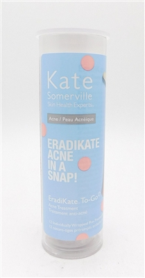 Kate Somerville Skin Health Experts Eradikate Acne in a Snap Acne Treatment 12 Pre-Treated Swabs
