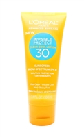 L'Oreal Advanced Suncare Invisible Protect Clear Cool Lotion 30 SPF30 3.4 Fl Oz.